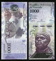 VENEZUELA 1000 (1,000) Bolivares, 2016-17, P-95, UNC World Currency