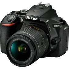 Nikon D5600 DSLR Digital SLR Camera with 18-55mm Lens - Black US Version