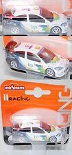 Majorette Racing 212084008 Ford Focus WRC (Nr. 201A), weiß, bp / MICHELIN / 8