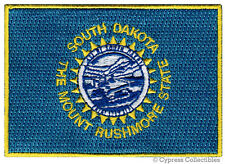 SOUTH DAKOTA STATE FLAG PATCH EMBROIDERED IRON-ON new APPLIQUE EMBLEM