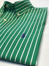 Ralph Lauren Green a Rayas Camisa M