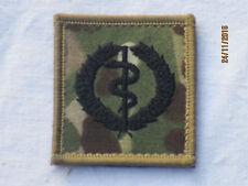 Combat Medical Technicians Qualification Badge, MTP, Touch fastener,Multicam