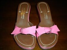 Ladies Donald J Pliner Made In The Mountains Of Italy Pink Velma Wedge Heels 39
