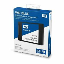 WD BLUE 500GB 2.5Inch Solid State Drive 560MB/s