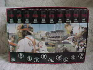 Jacobs Field 10th Anniversary of Cleveland Indians Baseball History 10 VHS SET