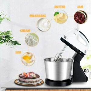 7 Speed Cake Electric Stand Mixer Food Multi Mixing Bowl Blender Beater Dough