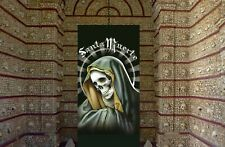 Santa Muerte at Chapel of Bones. Free altar advice included! Nina Blanca, occult
