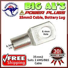 10 x 35-8 35mm2-8mm Dual Battery Auto Automotive Cable Lug Connector Crimp 3B&S