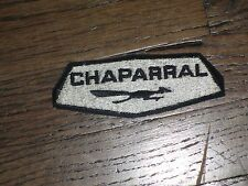 Jim Hall , Chaparral Racing Car,Can Am, vintage patch,new old stock, rare!