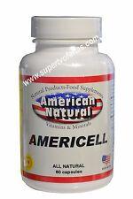 AMERICELL AFA Extract Cell Enhancer  CELULAS MADRES 520mg bioxtron madre cell