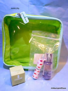 Clinique Gift Bag w/ make up Remover Moisture Intense Lip Stick NEW