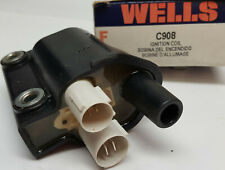 Wells C908 Standard Ignition UF-63 Honda Integra Prelude Accord 80's coil
