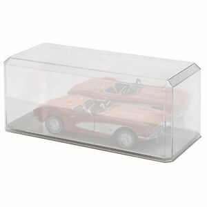 1:18 SCALE DISPLAY CASE WITH MIRRORED BASE
