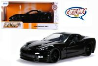 1/24 Jada BIGTIME MUSCLE 2006 Chevrolet Corvette Z06 Diecast Model Black 31862