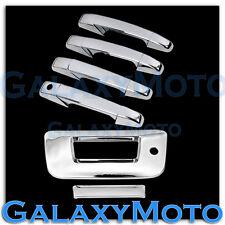 07-13 Chevy Silverado Chrome 4 Door Handle+Tailgate W/Keyhole no Camera Cover