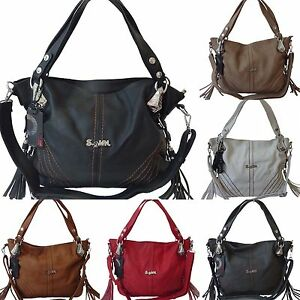 Large Women's Shoulder Bag Handbag Shopper Bag 2199