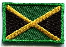 Flag of Jamaica rasta reggae embroidered applique iron-on patch Small S-110