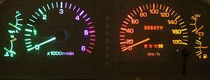 Rainbow LED Dash Instrument Cluster Light Kit for Toyota Landcruiser 80 Series