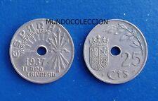 II AÑO TRIUNFAL 25 céntimos 1937 Viena Franco - MBC