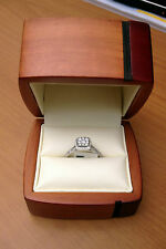 Texas Wood  SINGLE Ring Jewelry Gift Box Engagement Great quality Great Price