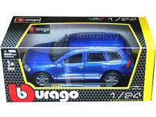 BBURAGO 18-22015 VW VOLKSWAGEN TOUAREG SUV 1/24 DIECAST BLUE