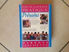 """Livre """"encyclopédie des prénoms"""""""