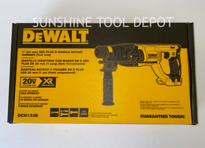 "Dewalt DCH133B XR 20V Brushless SDS 1"" Rotary D-Handle Hammer Drill (Tool Only)"