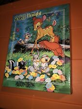 "Vintage Disney Bambi 200 Pieces Golden Jigsaw Puzzle 14"" X 18""  Brand New Sealed"