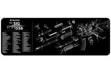 SIG SAUER 556 RIFLE EXPLODED DIAGRAM GUN CLEANING GUNSMITH BENCH TEK MAT NEW