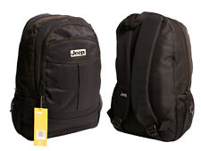 JEEP High Quality Black Backpack Bag For School Travel Work Laptop Luggage 1376