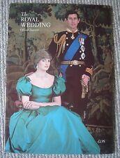 1981 Royal Wedding official Souvenir magazine- Charles & Diana-Jubilee Trust