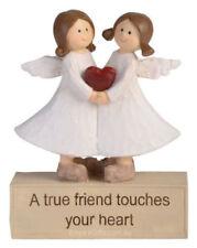 1 x Adoring Angel Figurine True Friend Ornament Statue Figurine