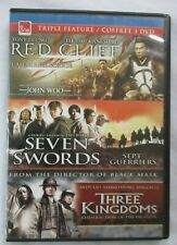 RED CLIFF / SEVEN SWORDS / THREE KINGDOMS - TRIPLE FEATURE BLU-RAY DISC