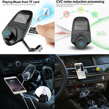 1.44 Screen Car Wireless Bluetooth T10 FM Transmitter Handsfree Kit USB Charger