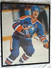 Mark Messier Framed Photo / Poster NHL Edmonton Oilers Hockey Moose Messiah