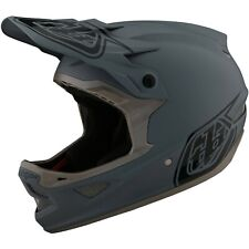 Troy Lee Designs D3 Helmet Tld Bmx Mtb Downhill Fiberlite Stealth Gray NEW 2021