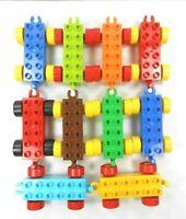 Lego Duplo Train Bases (10) Various Colors