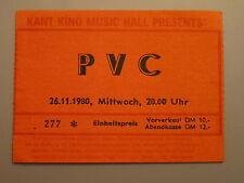 TICKET PVC 1980 BERLIN GERMANY