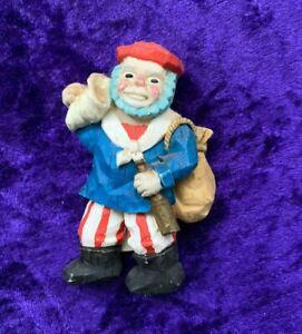 1990s Old Time Sailor resin Fridge Magnet