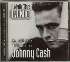 I WALK THE LINE - AN ALL-STAR TRIBUTE TO JOHNNY CASH - CD - NEW
