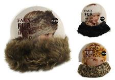 Faux Fur Ski Hats for Women
