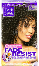 3 X Dark and Lovely Permanent Hair Colour Dye Natural Black 372