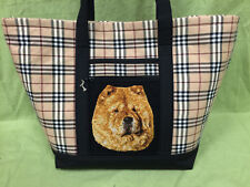 Beautiful Custom Embroidered Chow Chow Tote