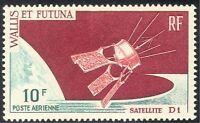 Wallis & Futuna 1966 Space/Satellite D1/Rockets/Communications 1v (n42992)