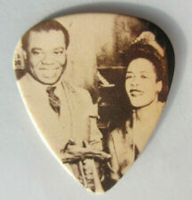 Jazz Legends Collectors Guitar Pick - Louis Armstrong & Billie Holiday