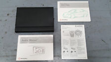 VAUXHALL VECTRA C MK2 2002 OWNERS USER MANUALS / HANDBOOKS AND LEATHER WALLET