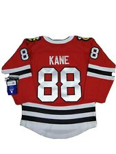 Official WithTag Chicago Blackhawks #88 Kane #19 Toews, Home Jersey YTH small