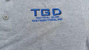 5.11 TACTICAL POLO Shooting GREY SHIRT MEDIUM 100% COTTON