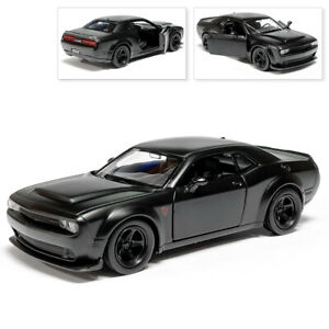 Dodge Challenger SRT Demon Diecast Car Scale, Collectible Toy Cars, Model, 1/32