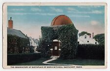 NANTUCKET ISLAND Massachusetts PC Postcard MARIA MITCHELL Observatory ASTRONOMY